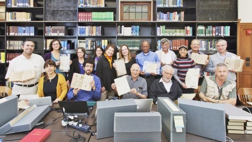 תמונה מסדנת המחקר הראשונה על יהודי המגרב שהתקיימה בשיתוף פעולה עם התכנית ללימודי היהדות ועם יחידת אוסף היודאיקה באוניברסיטת ייל (28-21 באפריל 2010)